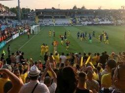 """Florin Călinescu: """"Punem toate speranțele in copiii aceștia din echipa de tineret a țării! Pentru ca in echipa maturilor, e mai greu.  Așa si cu politica.  Trebuie sa găsim tineri si sa ii convingem sa lupte pentru România!"""" 23"""