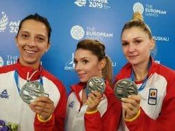 FELICITĂRI! România, medalie de argint la tenis de masă în cadrul Jocurilor Europene care se desfășoară la Minsk 33