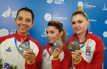 FELICITĂRI! România, medalie de argint la tenis de masă în cadrul Jocurilor Europene care se desfășoară la Minsk 42