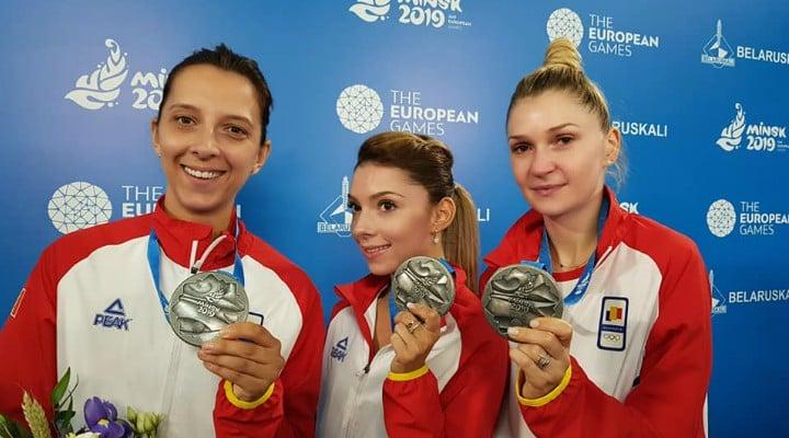 FELICITĂRI! România, medalie de argint la tenis de masă în cadrul Jocurilor Europene care se desfășoară la Minsk 2