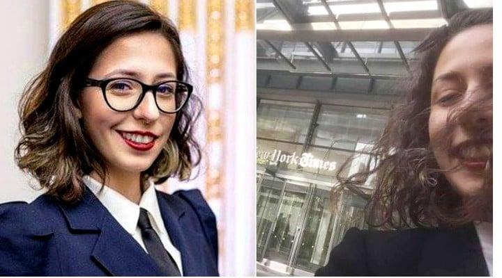 FELICITĂRI! Românca Ana Fota, la 23 de ani, angajată de The New York Times ca reporter! 1