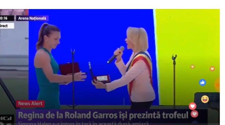 """Grigorescu Dan: """"Firea-Udrea, destine paralele? Mă duc la culcare liniștit, convins că Simona a înțeles că românii adevărați nu vor permite niciunui politician să se cațere pe munca ei titanică pentru un iluzoriu beneficiu de imagine electorală.   Scuzele noastre, Simona! Dar cei de la stadion, prin aceste huiduieli din suflet, ți-au ..."""" 1"""