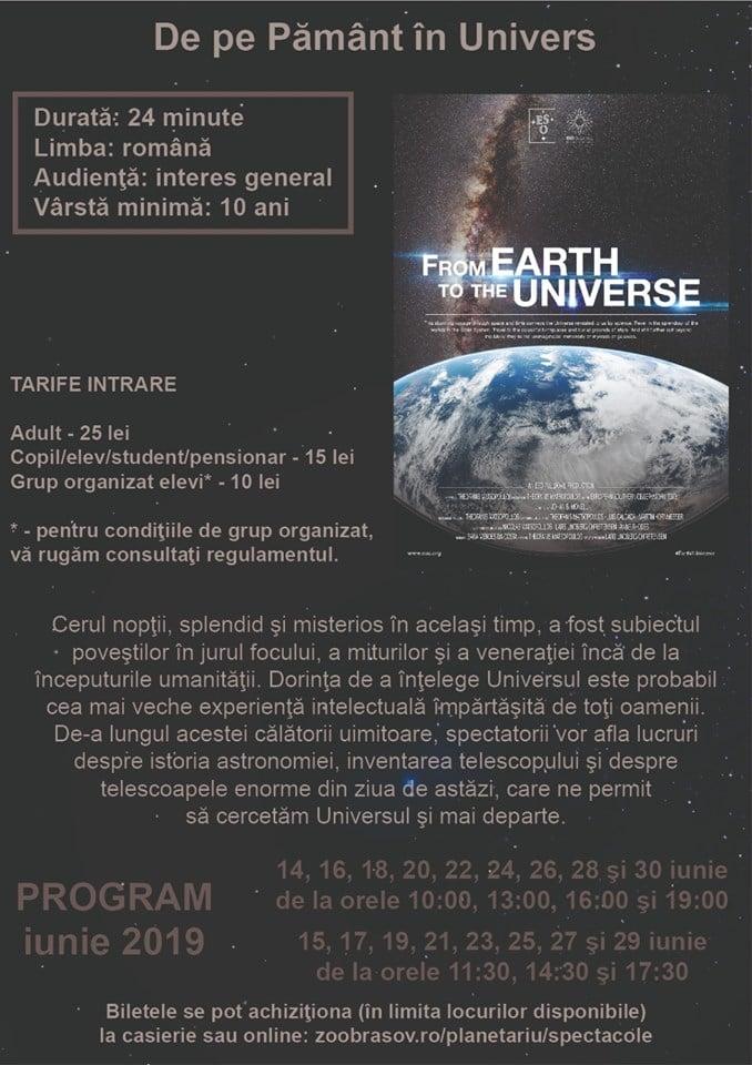 """(Foto) Vineri se deschide cel mai mare Planetariu din România. La înbceput, două spectacole - """"De pe Pământ în Univers"""" şi """"Două mici bucăţele de sticlă - uimitorul telescop"""" 2"""