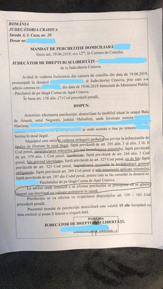 """Document. Procuroarea ajunge la închisoare? Toni Neacșu, avocat în dosarul lui Liviu Dragnea, despre Sorina: """"Adopția minorei în SUA este perfect legală, reținerea ei de către asistenții maternali era nelegală la acel moment ...Problema reală este modalitatea în care procurorul învestit cu o plângere penală a înțeles să..."""" 1"""