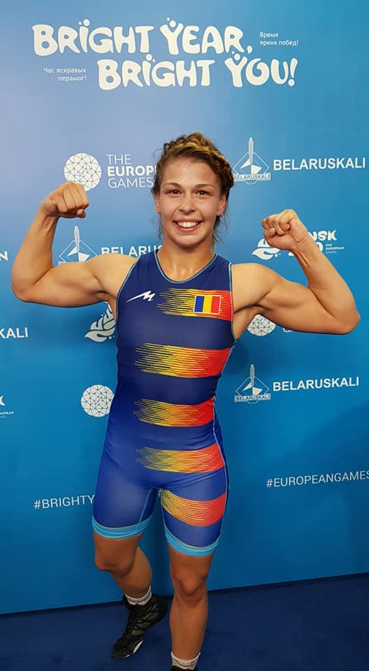 FELICITĂRI! Luptătoarea din România Kriszta Incze, medaliată cu bronz LA Jocurile Europene 2019 de la Minsk 1