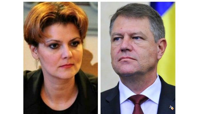 """Olguța Vasilescu râde de Klaus Iohannis. """"Eu zic să-l lăsăm pe preşedinte să şadă şi să cujete liniştit, aşa cum cujetă dumnealui de fiecare dată...aşteptăm să fie în sfârşit bărbat hotărât, să vină să spună care..."""" 1"""