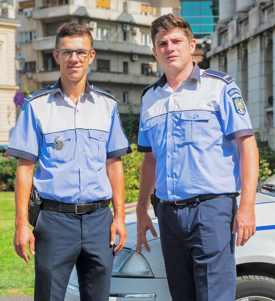 """FELICITĂRI! MAI: """"Silviu și Sorin veneau de la un accident și mergeau spre Piața Presei Libere, unde au fost repartizați în acea zi. La ieșire din Pasajul Obor au văzut o mașină, cu luminile de avarie în funcțiune, care se strecura printre celelalte autovehicule din trafic. - Sigur se întâmplă ceva ..."""" 1"""