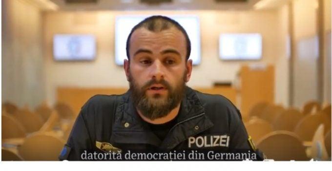 """(Video) Jurnalistul Vlad Ursulean: """"Am fost în vizită la polițaiul născut în Brașov care a încercat să-i ajute pe românii din München să voteze...Oamenii erau furioși de situație, dar pe el l-au aplaudat, l-au îmbrățișat și i-au amintit de rădăcinile românești...În acest context mi-a povestit ..."""" 1"""