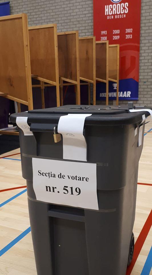 Românii din Olanda votează în pubele de gunoi! Reacția Ambasadei Olandei 1