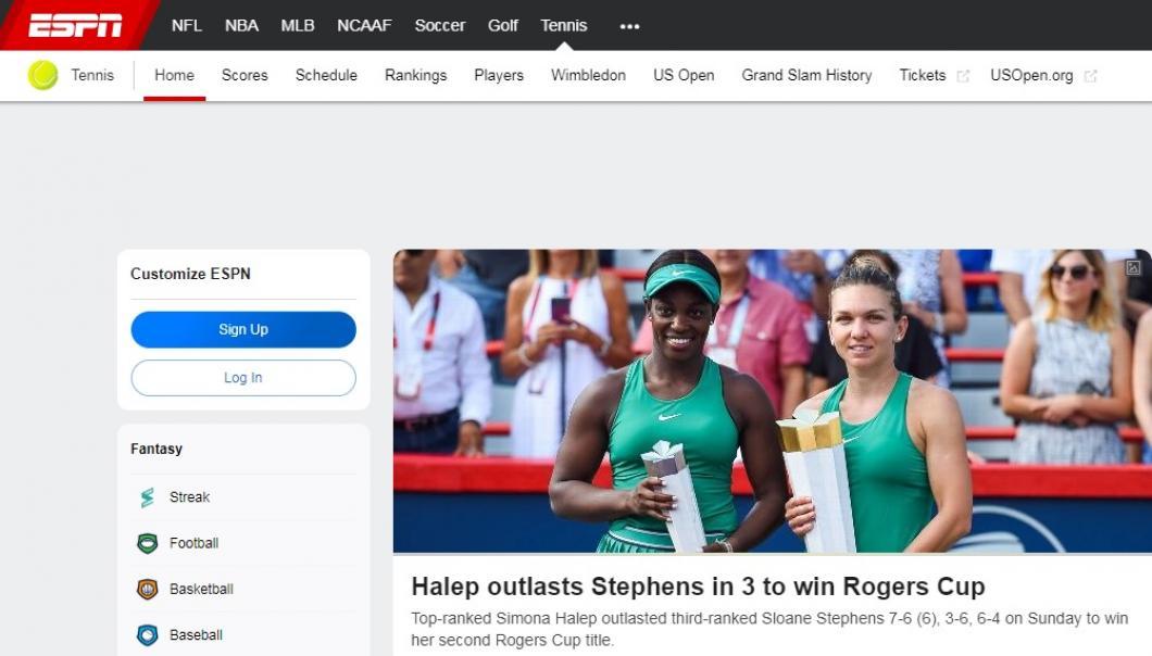 Simona Halep, ce spune presa internațională despre victoria din finala de la Montreal 4
