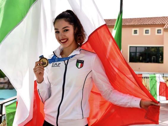 FELICITĂRI! Nadia Italiei e româncă: Alexandra Agiurgiuculese, născută în România, cea mai bună gimnastă din Peninsulă. Aur la individual la Jocurile Mediteraneene 1