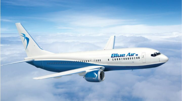 """Blue Air, reacție după ce un avion a aterizat de urgență. """"Un senzor de la aeronavă a arătat că sunt probleme la ..."""" 1"""