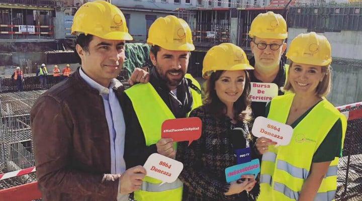 """(Foto) Andreea Esca: """"Da, tot noi cei care platim taxe la bugetul sanatatii trebuie sa ne adunam si sa construim, tot din banii nostri, un spital! Pentru ca ..."""" 1"""