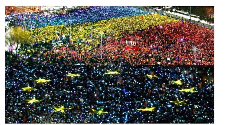 """Se reiau protestele anti-guvernamentale! """"De 1 Decembrie, venim în Piața Victoriei să strigăm două lucruri: La mulți ani, România! și Demisia! Această țară merită mai mult decât un  ..."""" 1"""