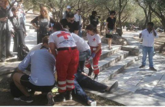 Un român a devenit erou în Atena. Timp de 10 minute, românul a resuscitat o turistă aflată în stop cardio-respirator 41