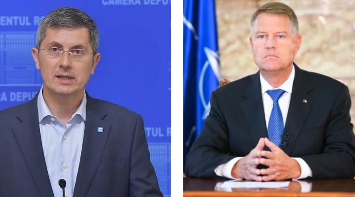 Dan Barna îi cere președintelui Klaus Iohannis să cheme partidele la discuții pentru un acord de declanșare a anticipatelor 1