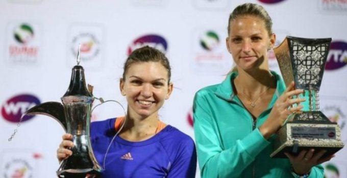 Hai Simona! Doar ea mai stă în calea Simonei Halep ca să redevină nr. 1 WTA. Cele două joacă în semifinale la Miami 9