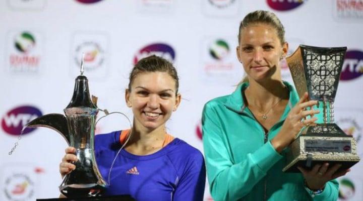 Hai Simona! Doar ea mai stă în calea Simonei Halep ca să redevină nr. 1 WTA. Cele două joacă în semifinale la Miami 1