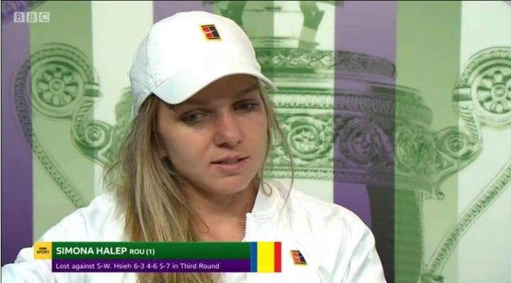 (Video) Explicațiile Simonei Halep au făcut-o pe marea jucătoare Martina Navratilova să dea cu capul de masă, după înfrângerea de la Wimbledon 1