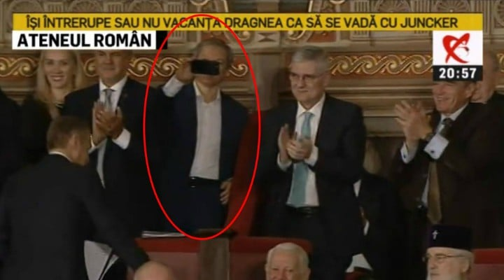 "(Foto)  Iohannis, ""James Bond is back"" Paula Rusu: ""La tinutele din seara asta: Iohannis - 10, Ciolos - ca un ciumpalac fara cravata, Viorica ..."" 2"