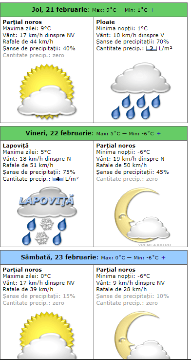 Meteo: Un val de aer polar îngheaţă România. Cum va fi la Cluj, Brașov, București, Timișoara, Iași, Sibiu 7