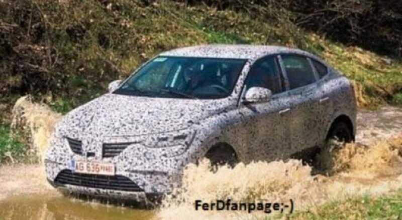 Foto spion. Dacia Arkana ar putea fi noul SUV Coupé produs la Mioveni 1