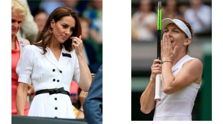 """Simona Halep felicitata de Ducesa de Cambridge, Kate Middleton: """"Ai jucat extraordinar, a fost un meci minunat"""" 1"""