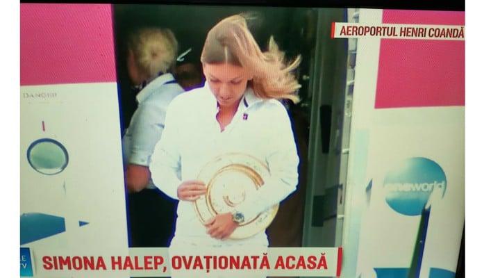 (Video) Simona Halep a revenit in România! Gabriela Firea ii organizează un eveniment la Arena Națională, la fel ca după câștigarea Roland Garros! 3