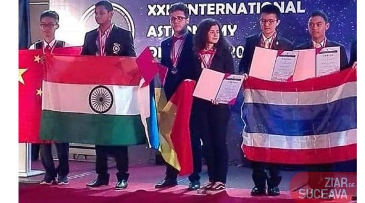 """Oana Pellea: """"Medalie de AUR la ASTRONOMMIE! PRIMUL DIN LUME! Statul român l-a REFUZAT! Sucevenii l-au ajutat, cu sute de donații, să ajunga la Olimpiadă. Ma intreb ce face ..."""" 1"""