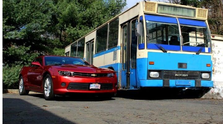 """(Foto) Ultimul autobuz DAC a ajuns la New York. Un militar american cu origini românești a plătit o avere pentru el. """"Mulți râdeau de mine pentru că devenisem mai român decât erau ei"""" 1"""