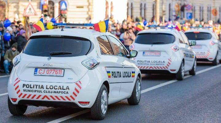 (Foto) Primul oraș din România care a cumpărat mașini electrice pentru Poliția Locală 1