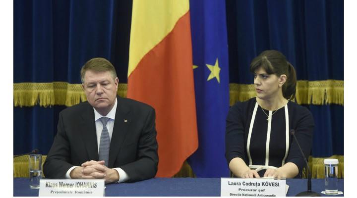 """Klaus Iohannis, felicitări """"triste"""" pentru Kovesi? """"Salut votul de astăzi în favoarea Laurei Codruța Kövesi pentru poziția de procuror șef al Parchetului European, o victorie importantă pentru România"""" 1"""
