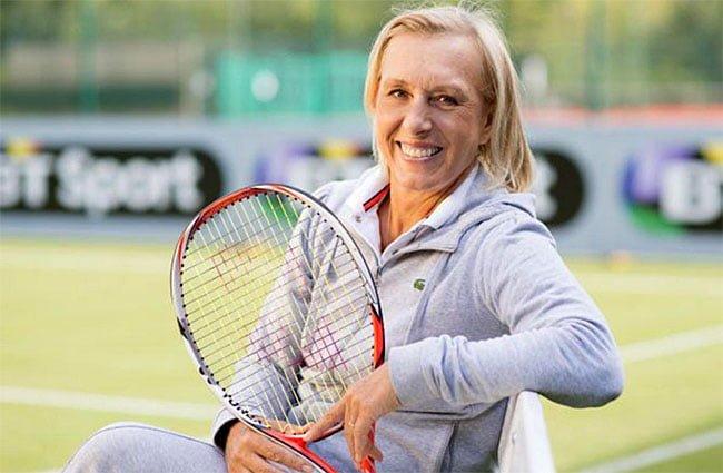 """Sfat pentru Simona Halep de la Martina Navratilova (a câștigat 18 turnee de Mare Șlem) """" nu poți câștiga Grand Slam-uri doar fără să faci greșeli, trebuie să aduci și ..."""" 2"""