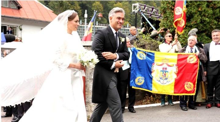 (Foto) Cine este Alina-Maria Binder, soția prințului Nicolae. Imagine de la nunta lor de astăzi 1