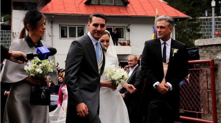 (Foto) Cine este Alina-Maria Binder, soția prințului Nicolae. Imagine de la nunta lor de astăzi 2
