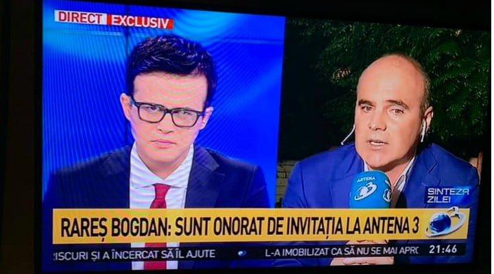 """Cristina Țopescu, despre Rareș Bogdan la Antena 3: """"Să te izmenești, fără sa fie cazul, in loc sa răspunzi strict la întrebări civilizat si atât, asta sa ma bata Dumnezeu daca înțeleg... după ce v-ați ..."""" 1"""