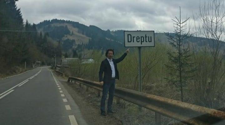 """Judecătorul Cristi Danilet: """"Am găsit statul paralel: este un sat de drept; eu dețin diplomă de licență în care scrie că am dreptul; cei de aici sunt mai tari: la ei scrie asta chiar în buletin;- avem și locuitori drepți în România;- eu nu am intrat cu ..."""" 3"""