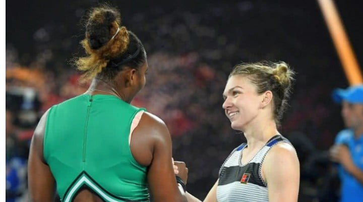 """Serena Williams, despre Simona Halep: """"Am jucat cu liderul mondial şi e acolo pentru că merită....Ştiam că pot să joc tot mai bine şi am reuşit să fac diferenţa. Nu cedez niciodată. Lupt până la ..."""" 1"""