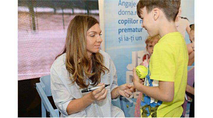 (Foto) Prima apariție publică a Simonei Halep după evenimentele de la Arena Națională. Ce a declarat tenismena 2