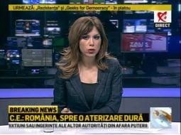 """Cu emisia suspendată, Realitatea a bătut la orașe și Antena 3, și România TV. Denise Rifai: Timp de zece minute de cenzura am fost lideri de piață absoluți! Am fost lideri de ..."""" 14"""