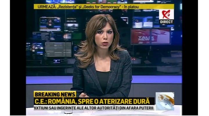 """Cu emisia suspendată, Realitatea a bătut la orașe și Antena 3, și România TV. Denise Rifai: Timp de zece minute de cenzura am fost lideri de piață absoluți! Am fost lideri de ..."""" 1"""