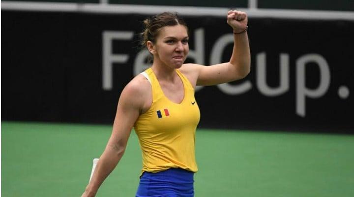Victorie! Simona Halep o învinge pe Lesia Tsurenk și urcă pe locul doi mondial 1