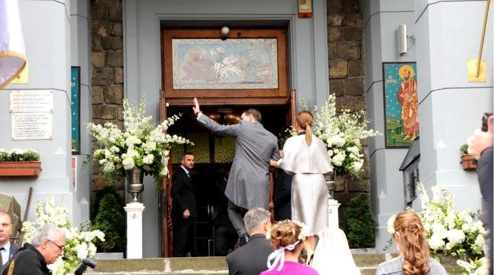(Foto) Cine este Alina-Maria Binder, soția prințului Nicolae. Imagine de la nunta lor de astăzi 4