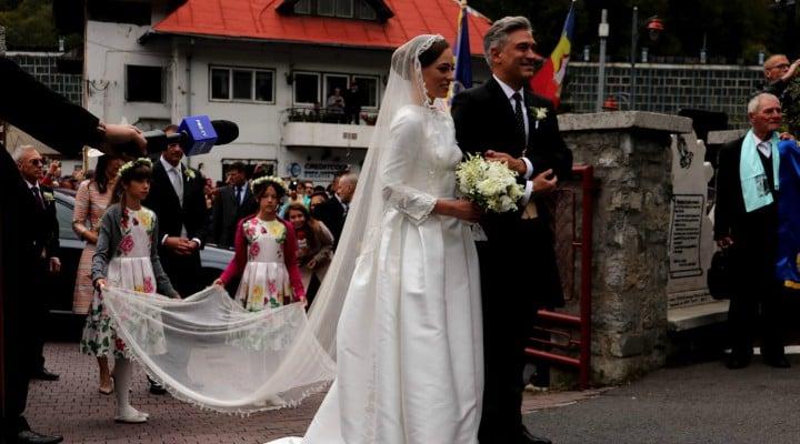 (Foto) Cine este Alina-Maria Binder, soția prințului Nicolae. Imagine de la nunta lor de astăzi 3