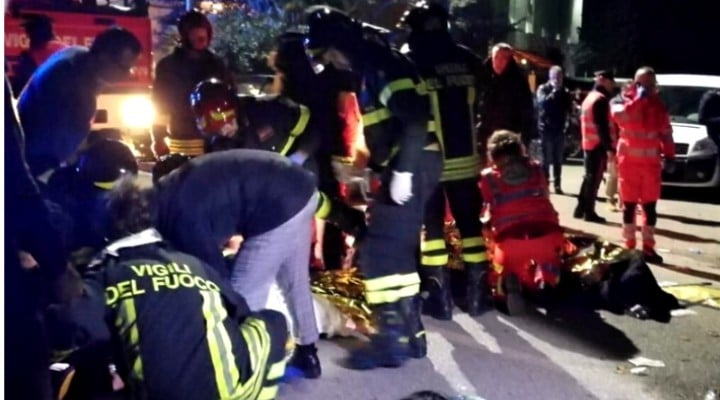 Ca la Colectiv?!  6 persoane au murit şi peste 100 au fost rănite într-un club din Italia, după o busculadă 1
