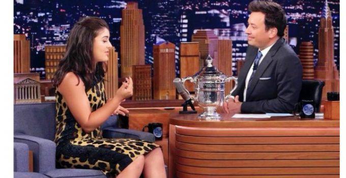 (Video) Bianca Andreescu a făcut senzaţie la un talk show din America. Cine nu a felicitat-o după triumf, deși și-ar fi dorit 5