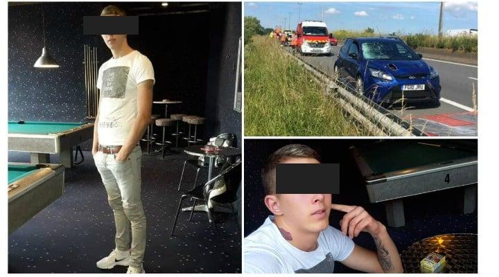 Român spulberat pe o autostradă din Franța. Mergea la muncă în Anglia 1
