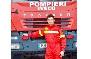 """MAI: """"În 2013 Andrei avea 14 ani. Era un tânăr fotbalist care urma să dea probe la Academia de Fotbal """"Gheorghe Hagi""""! Tatăl lui, pompier militar în orașul Fetești, îl încuraja din toată inima și îi spunea mereu: 40"""