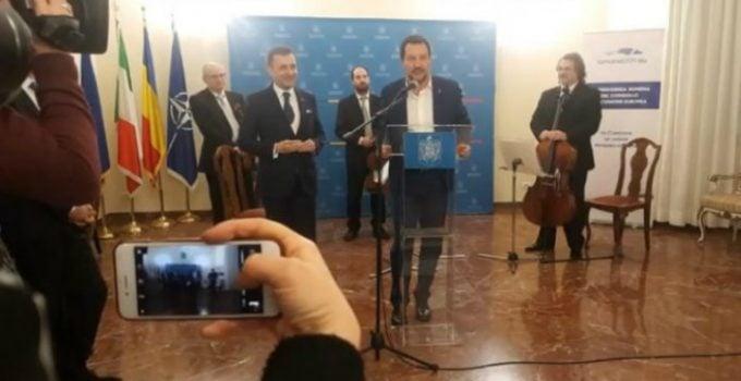 """Vicepremirul Italiei: """"Mulțumesc poporului român pentru contribuția lor acordată comunității noastre. Este cea mai numeroasă și mai integrată comunitate din Italia. Misiunea mea este ..."""" 22"""