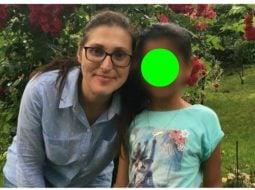 Sorina a plecat din România împreună cu părinții săi adoptivi 4
